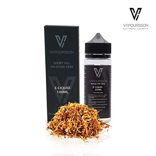 Vapoursson 100ml Gold Tabaco 0mg E-Liquido | Shortfill