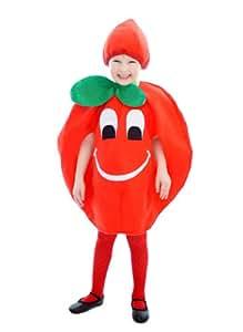 Toddler Rouge Tomate Costume de déguisement âge de 3 ans