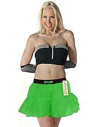 Crazy Chick 2 Layer Dance Wear Tutu Skirts ST. Patrick Fancy Dress Skirts