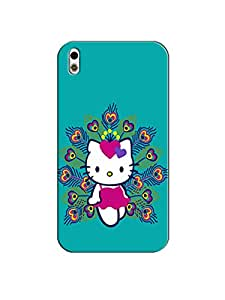 Print tech back cover for HTC Desire 816