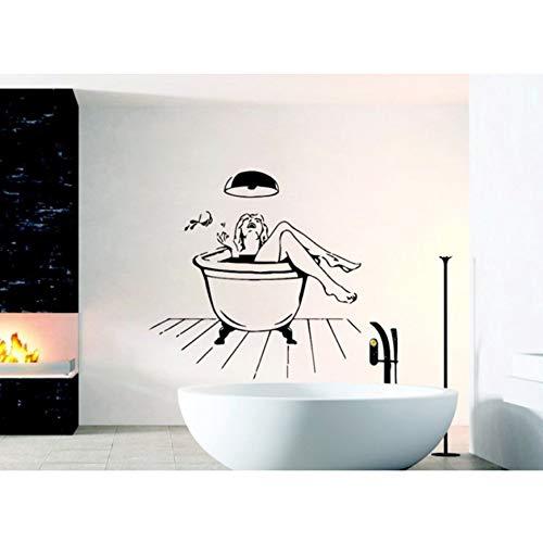 Badezimmer Erogen Wandbild Aufkleber Home Spezielle Dekor Salon Kunst Dusche Dekorative Aufkleber ()