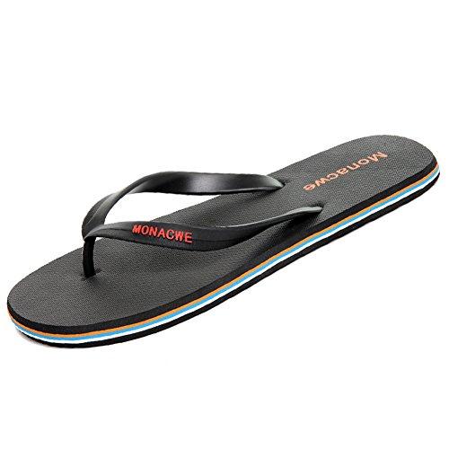 Flip flop strand sandalen/Outdoor anti-rutsch-clip fuß hausschuhe A