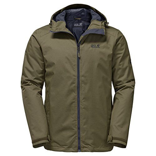 Jack Wolfskin Winterjacke Northern Sky Herren Burnt Olive XX-Large