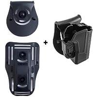 orpaz defensa Lowride cinturón + retención roto rotación Tactical Holster con Tention Ajustment para Sig Sauer P320/P250tamaño completo y compacto