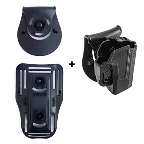 ORPAZ Defense Lowride belt attachment + retention ROTO rotation tactical Holster with tention ajustment for Sig Sauer p320/ P250 Full Size and