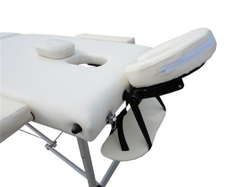 D&S Vertrieb Massageliege – Aluminium 3 Zonen - 6