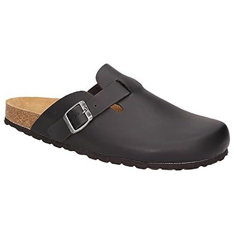 BOWS® Schuhe -HEINZ- Herren Hausschuhe Clogs Pantoffeln Puschen Latschen Slipper