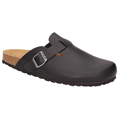 BOWSHeinz - Pantofole Uomo Nero