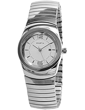 Prisma Damen-Armbanduhr Classic Edelstahl Analog mit Quarzwerk P.1287