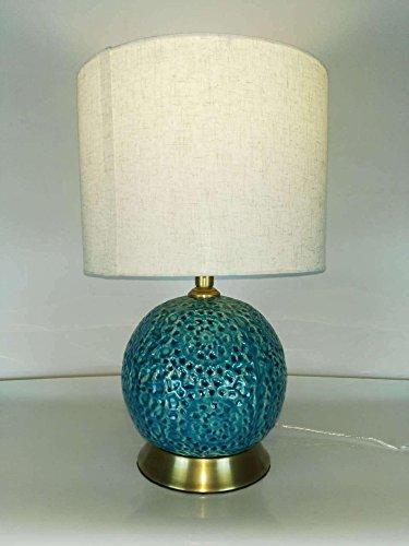 SAEJJ-Studiare cinese in ceramica Lampade lampada da comodino camera 300 * 480 * 170 cinese nozze americano desk lamp lampada da tavolo decorativa in ceramica blu