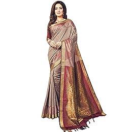 Craftsvilla Silk Saree With Blouse Piece