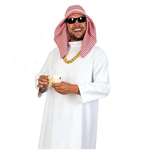 KarnevalsTeufel Kostüm Scheich Araber Beduine Wüste für Erwachsene - Saudi Arabien Kostüm