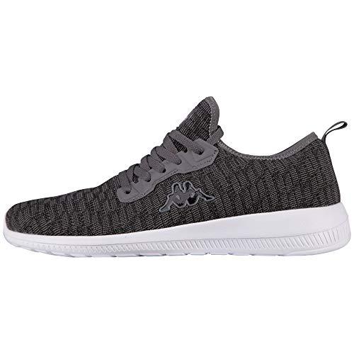 Kappa Herren Gizeh Sneaker, Mehrfarbig (Grey 001), 36 EU