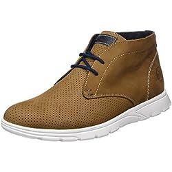 PANAMA JACKDimitri - botas de media caña Chukka con forro cálido Hombre , color marrón, talla 41 EU