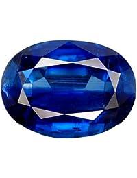 KaratKing® Good Looking Very Rare Royal Blue Sapphire (Neelam) Gemstone 5.85 Carat