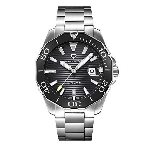 PAGANI DESIGN, orologio da uomo, classico, Diving Series, in acciaio inox -...