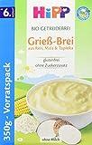 HiPP Bio-Getreide-Breie Grieß-Brei, 1er Pack (1 x 350 g)