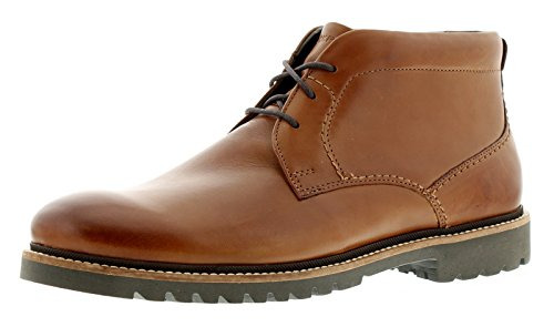 New Mens/Gents Tan Rockport Marshall Chukka Lace Ups Boots - Tan -...