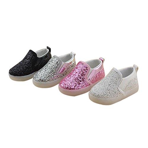 Haodasi Fashion LED Kids Boys Girls Light Schuhe Shoes Light Up Leuchtend Children Trainers
