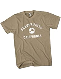 Beaver Falls California Mens Premium T-Shirt Choice of 15 Colours Small to 3XL