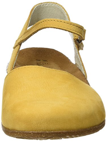 El Naturalista N412 Pleasant Wakataua, Closed-Toe Femme Jaune (Curry)
