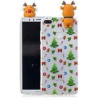 Everainy Huawei Honor 9 Lite Silikon Hülle 3D Weihnachts dünn Durchsichtig Hüllen Handyhülle Gummi Huawei Honor... preisvergleich bei billige-tabletten.eu
