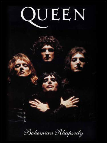 Posterlounge Lienzo 90 x 120 cm: Queen - Bohemian