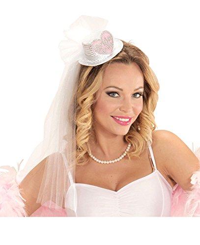 Enter-Deal-Berlin - MINIHUT Bride to BE - mit Brautschleier, Junggesellinnenabschied Diadem Girls Night Hen Party