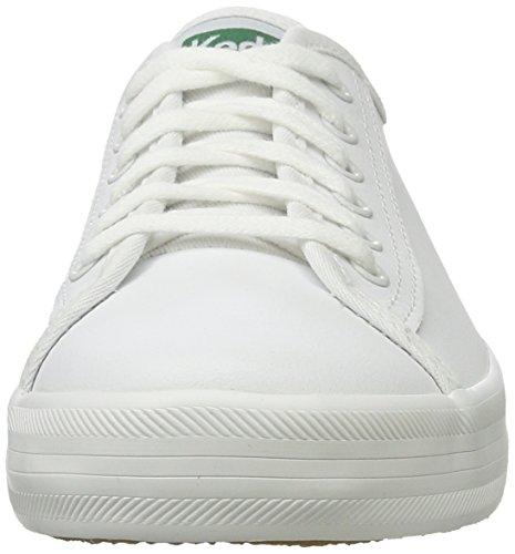Keds Kickstart, Basses femme Weiß (White)