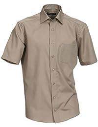 Casa Moda - Comfort Fit - Bügelfreies Herren Business kurzarm Hemd verschiedene Farben (008070)