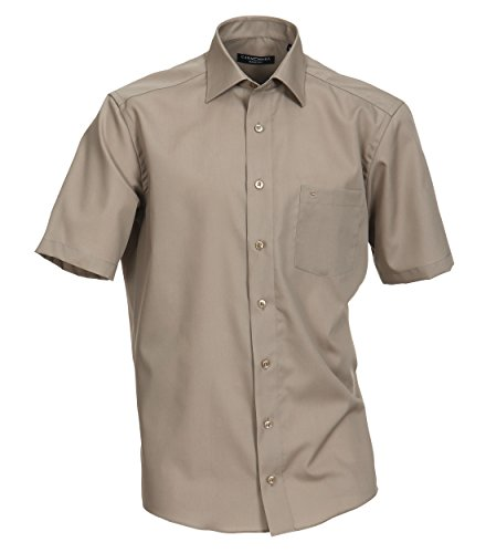 Casa Moda - Comfort Fit - Bügelfreies Herren Business kurzarm Hemd verschiedene Farben (008070) Blau (109)
