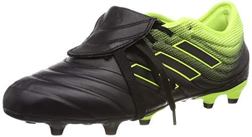adidas Herren COPA Gloro 19.2 FG Fußballschuhe, Schwarz (Core Black/Solar Yellow), 44 2/3 EU