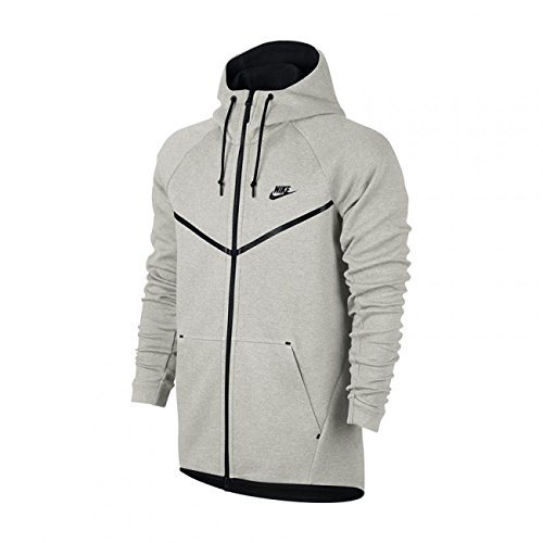 COUPE VENT NIKE TECH FLEECE HOODIE / GRIS