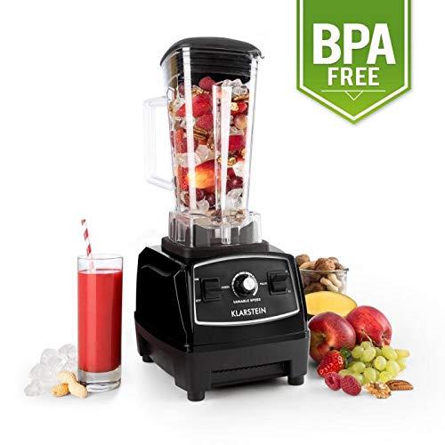 Klarstein Herakles 2G Batidora BPA-free - Mezcladora, Picadora, Licuadora, Smoothies sopas cremas...