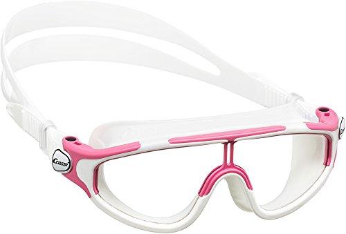Cressi Premium Schwimmbrille Kinder 2/15 Jahre 100% UV Schutz + Tasche - Hergestellt in Italien -