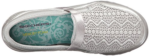 Skechers Breathe-Easy - Our Song, Sneaker basse donna Argento