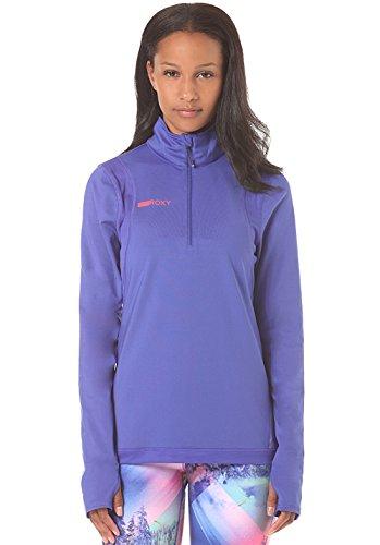 Roxy Damen Keep It Warm Knit Top–Schwarz Royal Blue