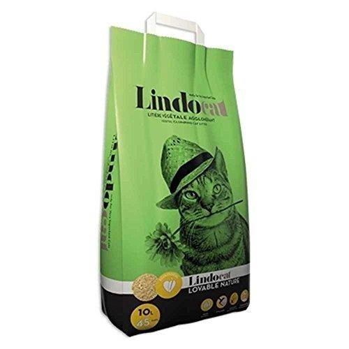 Lindocat Lettiera Lovable a Base Vegetale con Mais per Gatto - 6 litri