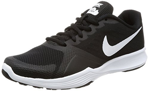 Nike Damen City Trainer Laufschuhe, Nero (Black/White), 37.5 EU (Damen-trainer)