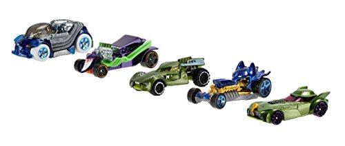 Image of Hot Wheels Batman vs Superman Character Car - Pack of 5