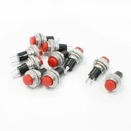 sourcingmap-pulsante-interruttore-temporaneorosso-e-rotondo3a-125v-15a-250vac-spst10-pezzi