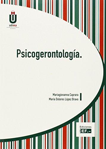 Psicogerontología por Mariagiovanna Caprara