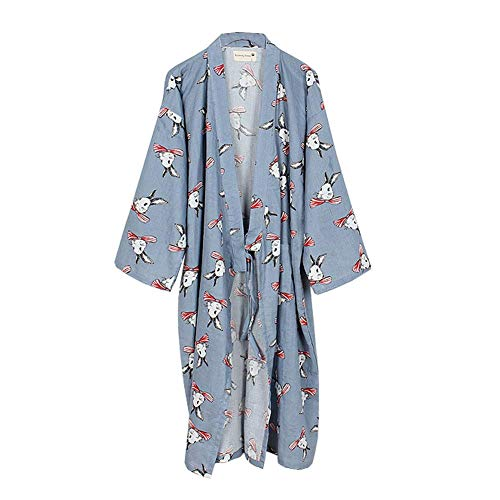 ALIKEEY Le Donna Allentate Casuale Manica Lunga in Cotone in Lino Boho Abito Lungo Vestiti Irregolare Colore Solido V Collo Gonne Lunga