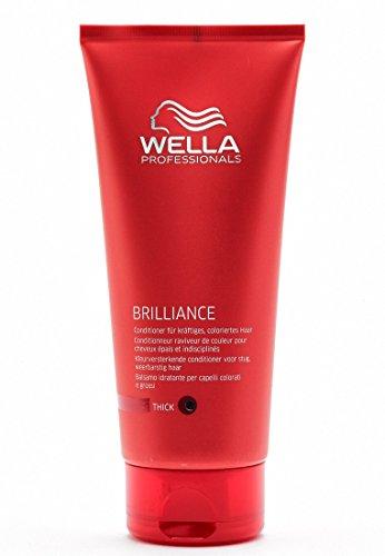 Wella Professionals Brilliance unisex, Conditioner für kräftiges, coloriertes Haar, 200 ml, 1er Pack, (1x 1 Stück) -