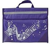 Musicwear: Wavy Stave Music Bag (Purple)