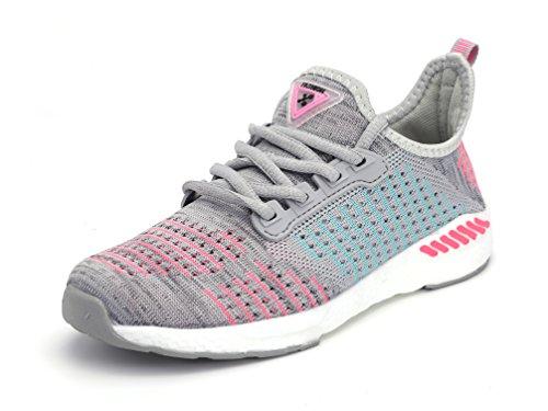 ZanYeing Unisex Bequem Gym Fitness Atmungsaktives Mesh Turnschuhe Freizeitschuhe Ultra-Light Sportschuhe Laufschuhe 36-48