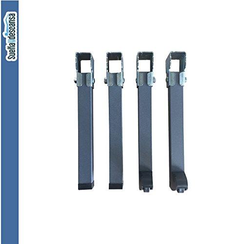 Patas Somier para bastidor 40 x 30 mm en 26 cm de altura