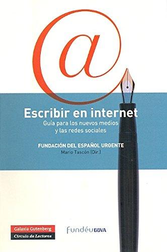 Escribir En Internet (Rústica) por Fundéu BBVA