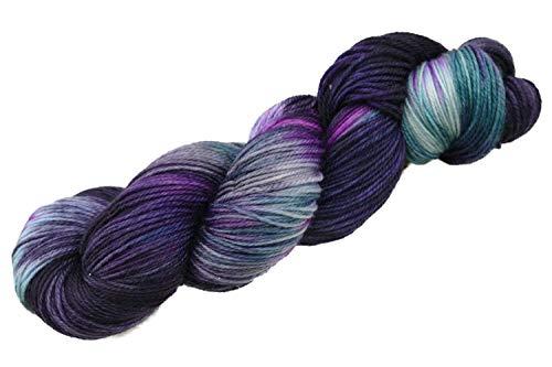 Manos del Uruguay Alegria Merinowolle mit Farbverlauf, Sockenwolle handgefärbt, Fb. A9995 Agave, 100g ca. 405m -