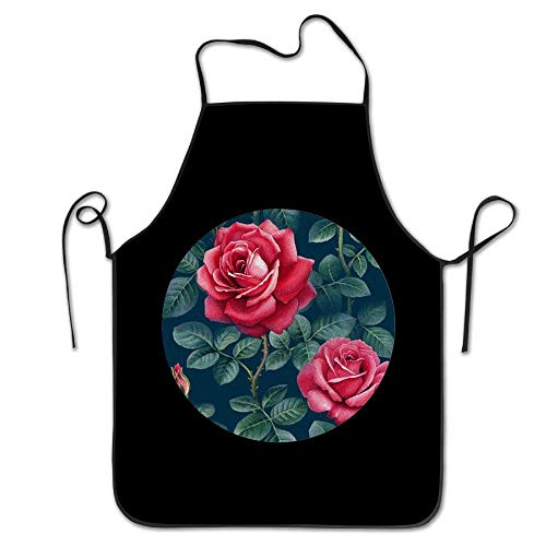 f4bfbcec4e9 Funny shirt Hip Hop Apron Rose Rainy Season Women Bib Kitchen Apron Cotton  Canvas Machine Washable Cartoon